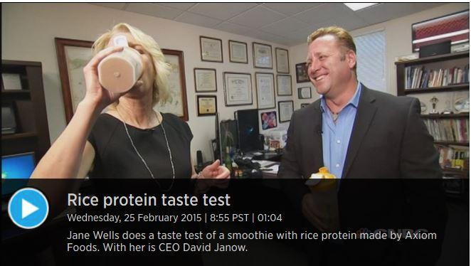 Rice Protein Taste Test