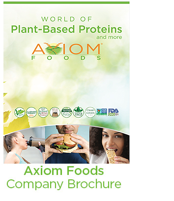 Axiom Foods company brochure