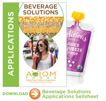 Beverage Solutions Applications with Plant Proteins