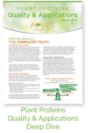 Axiom Protein Quality Applications