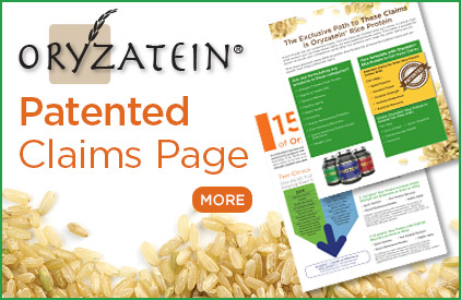 oryzatein patented claims