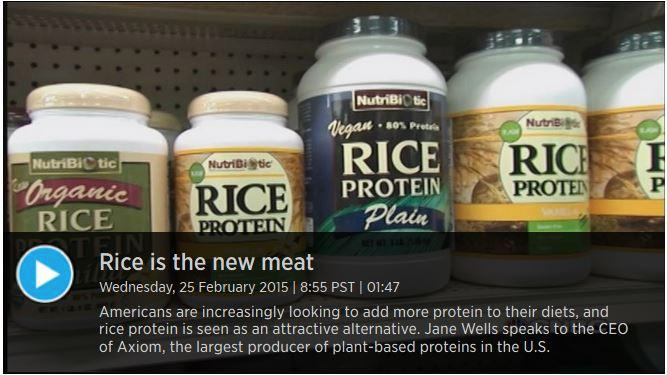 Rice Is The New Meat