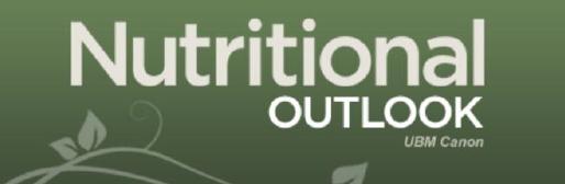 Nutritional Outlook Magazine Logo