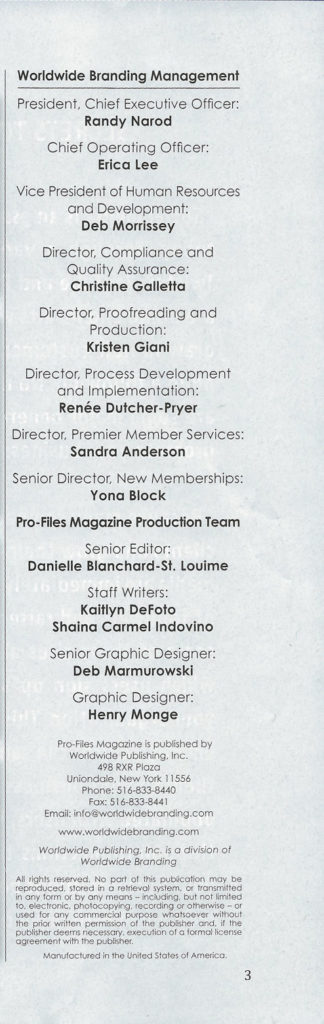 ProFiles Magazine David J - 3